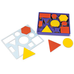 Attribute Blocks Desk Sets - by Learning Resources