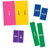 Double-Sided Magnetic Demonstration Rainbow Fraction Squares - by Learning Resources - LER1617