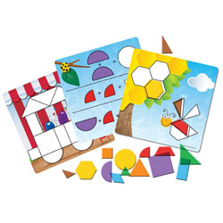 Shapes Don't Bug Me Geometry Activity Set - by Learning Resources