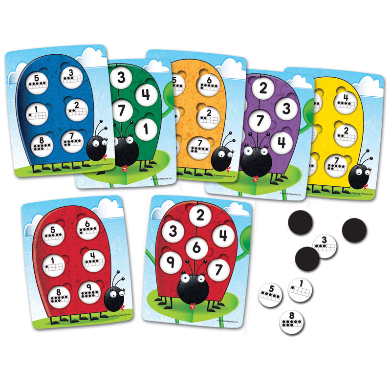 10 on the Spot Making Ten Game - by Learning Resources - LER1764