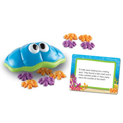 Under the Sea Shells Maths Word Problem Activity Set - by Learning Resources
