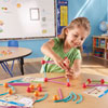 """Dive into Shapes! A """"Sea"""" and Build Geometry Set - Set of 129 Pieces - by Learning Resources - LER1773"""