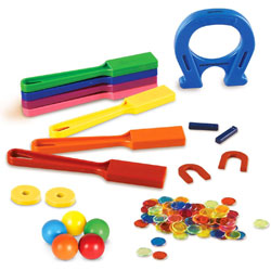 Super Magnet Lab Kit - Set of 119 Pieces - by Learning Resources