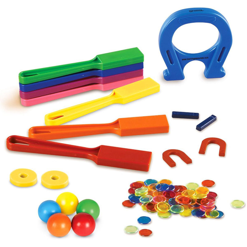 Super Magnet Lab Kit - Set of 119 Pieces - by Learning Resources - LER2064