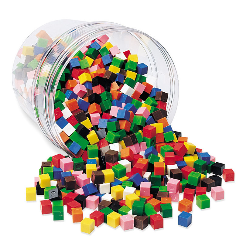 Centimetre Cubes - Set of 1000 - by Learning Resources - LER2089