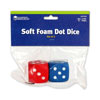Foam Dot Dice - Set of 2 - by Learning Resources - LER2228