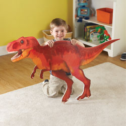 *BOX DAMAGED* Jumbo Dinosaur Floor Puzzle T-Rex - by Learning Resources