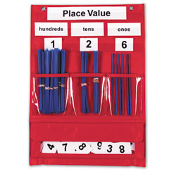 Counting & Place Value Pocket Chart - by Learning Resources