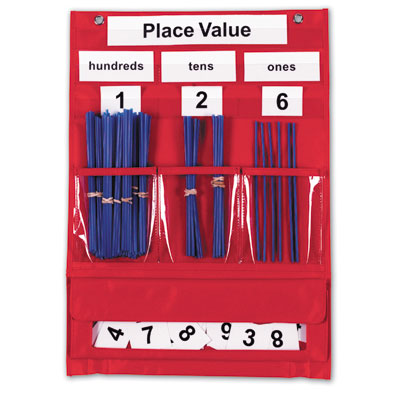 Counting & Place Value Pocket Chart - by Learning Resources - LER2416