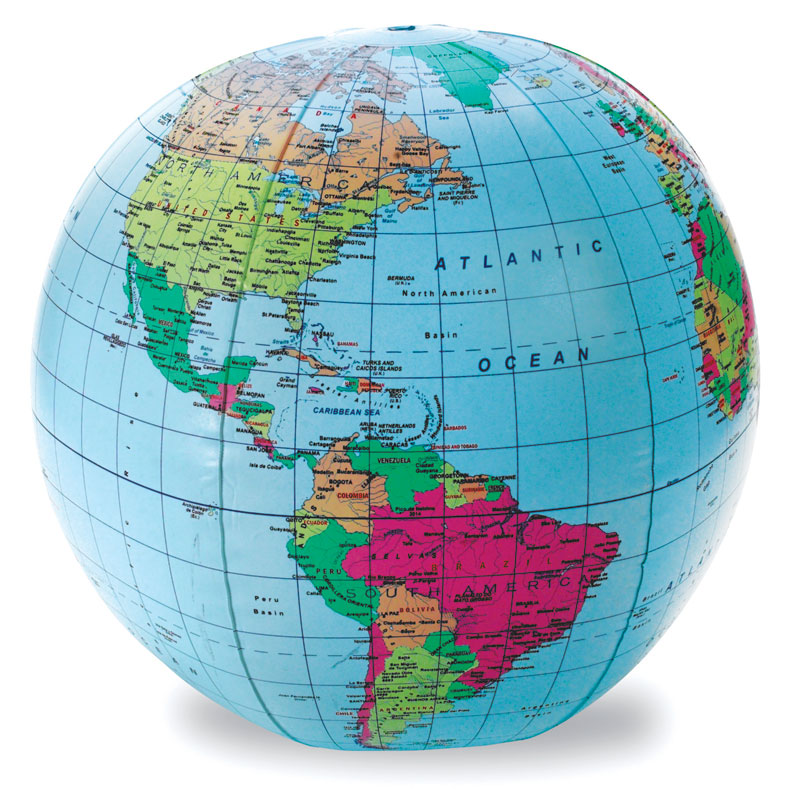 30cm Inflatable Globe - by Learning Resources - LER2432