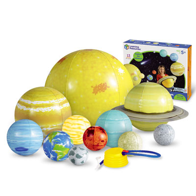 Giant Inflatable Solar System Set - Set of 13 Pieces - by Learning Resources - LER2434