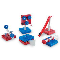 Simple Machines Building Set - Set of 63 Pieces - by Learning Resources