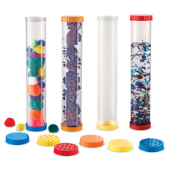 Primary Science Sensory Test Tubes - Set of 4 - by Learning Resources