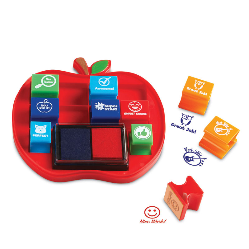 Pretend & Play School Stamps - by Learning Resources - LER2688