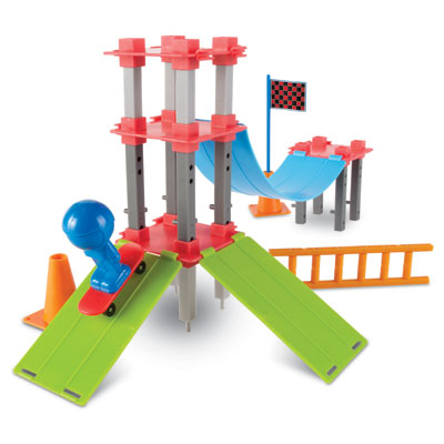 Skate Park Engineering & Design Building Set - by Learning Resources - LER2845