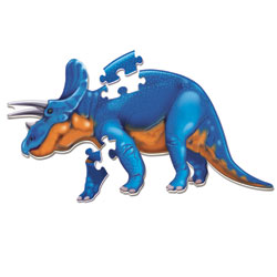 Jumbo Dinosaur Floor Puzzle Triceratops - by Learning Resources