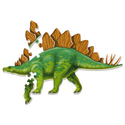 Jumbo Dinosaur Floor Puzzle Stegosaurus - by Learning Resources