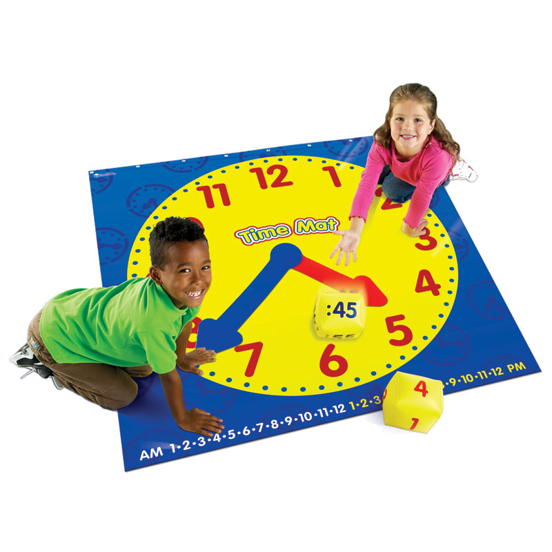 Time Activity Mat - by Learning Resources - LER2981