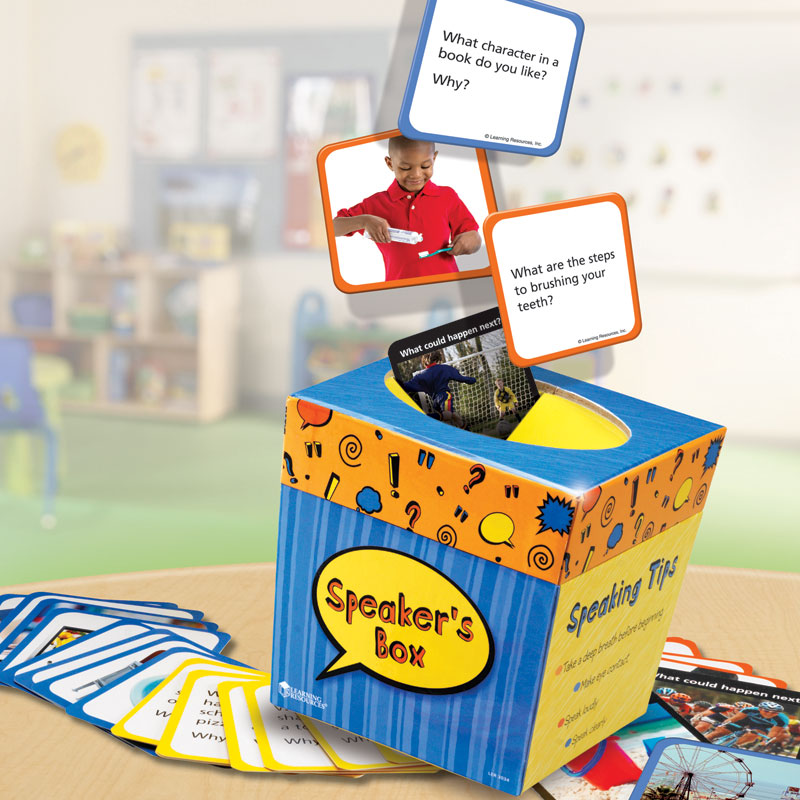 Speaker's Box - by Learning Resources - LER3034