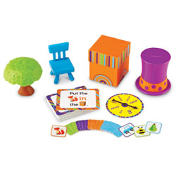 Fox in the Box Positional Words Activity Set - by Learning Resources