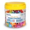 Under the Sea Ocean Counters - Set of 72 - by Learning Resources - LER3341