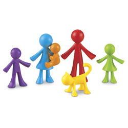All About Me Family Counters - Set of 72 - by Learning Resources