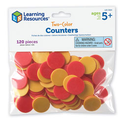 Two Colour Counters - Set of 120 - by Learning Resources