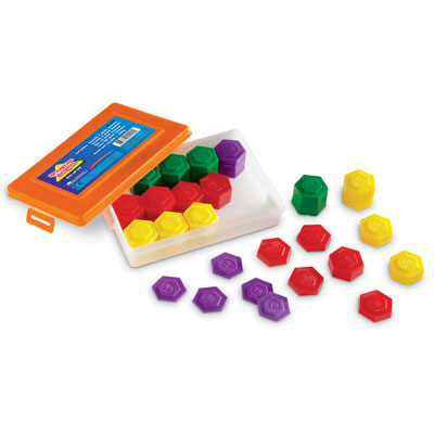 Metric Weight Set - Set of 54 - by Learning Resources - LER4292