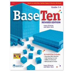 Base Ten Activity Book - by Learning Resources