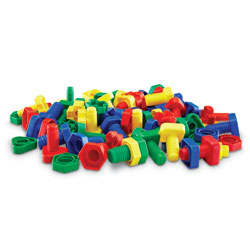 Attribute Nuts & Bolts - by Learning Resources