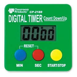 Digital Timer Count Down/Up - by Learning Resources