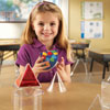 Real World Folding Geometric Shapes - Set of 32 - by Learning Resources - LER4356