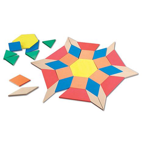 Giant Foam Pattern Blocks - by Learning Resources - LER4357