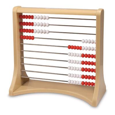 10-Row (100 Bead) Rekenrek Counting Frame - by Learning Resources - LER4359