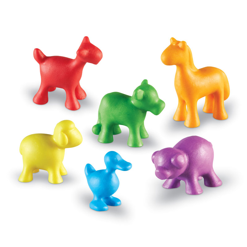 In the Barn Farm Counters - Set of 72 - by Learning Resources - LER4461