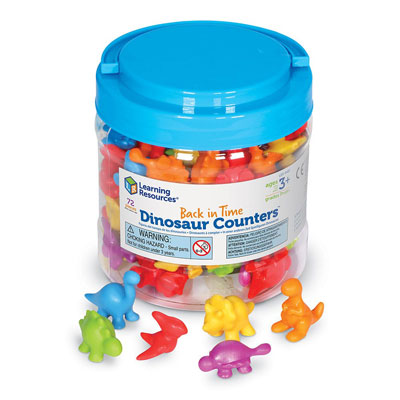 Back In Time Dinosaur Counters - by Learning Resources - LER4481