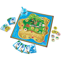 Alphabet Island A Letter & Sounds Game - by Learning Resources
