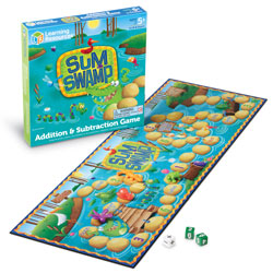 Sum Swamp Addition & Subtraction Game - by Learning Resources
