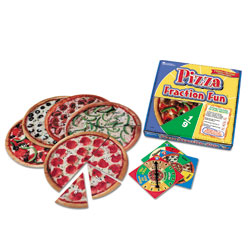 Pizza Fraction Fun Game - by Learning Resources