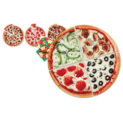 Pizza Fraction Fun Junior Game - by Learning Resources