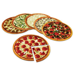 Magnetic Pizza Fractions - by Learning Resources