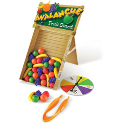 Avalanche Fruit Stand Colour & Fine Motor Skills Game - by Learning Resources