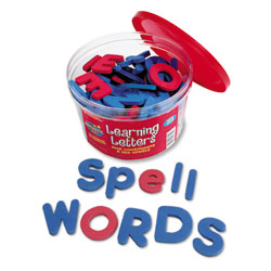 Soft Foam Upper & Lowercase Magnetic Learning Letters - Set of 104 - by Learning Resources