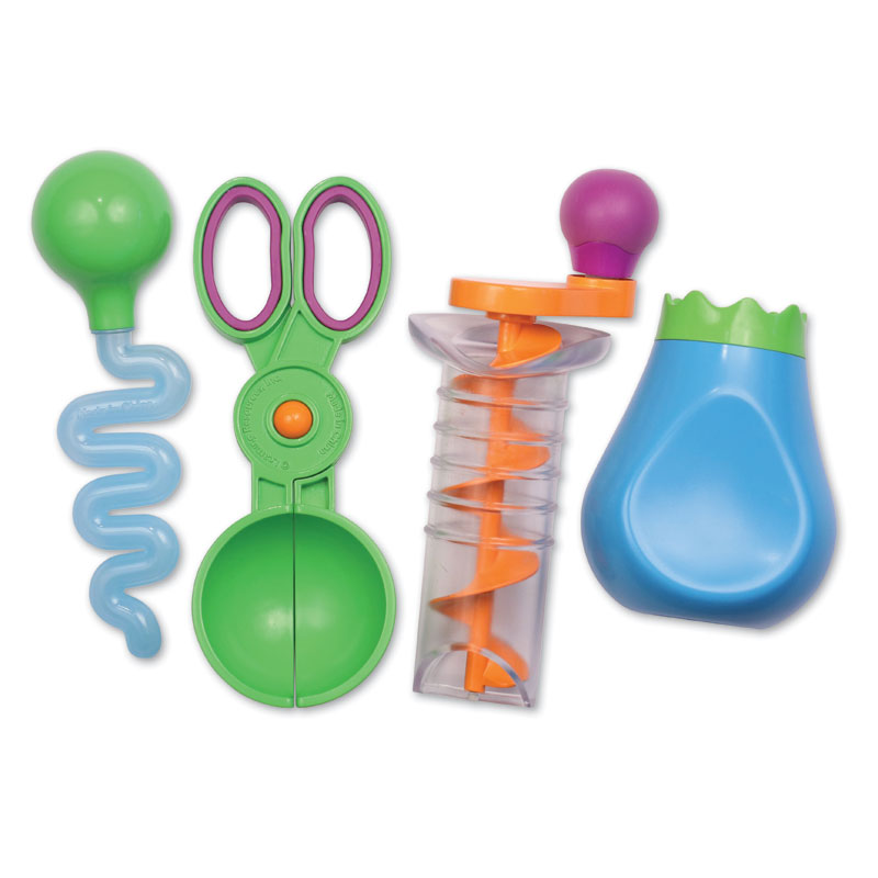 Sand & Water Fine Motor Tool Set - by Learning Resources - LER5559