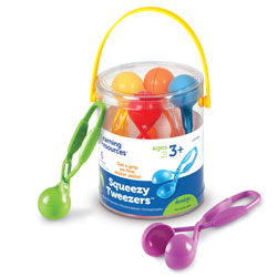 Squeezy Tweezers - by Learning Resources