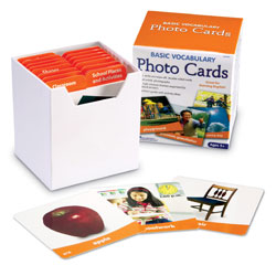 Basic Vocabulary Photo Cards - by Learning Resources