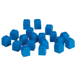 Interlocking Base 10 Plastic Units  - Set of 100 - by Learning Resources
