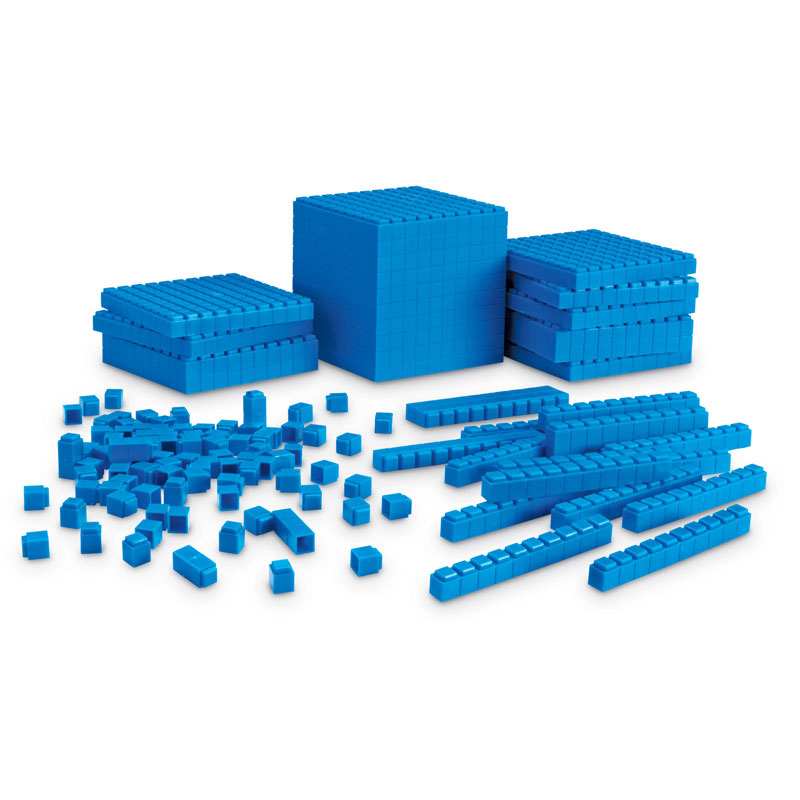 Base 10 Interlocking Plastic Rods Starter Set - by Learning Resources - LER6356