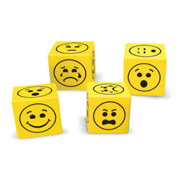 Soft Foam Emoji Dice - Set of 200 - by Learning Resources