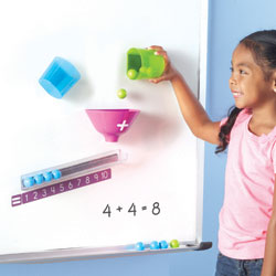 Magnetic Addition Machine - by Learning Resources